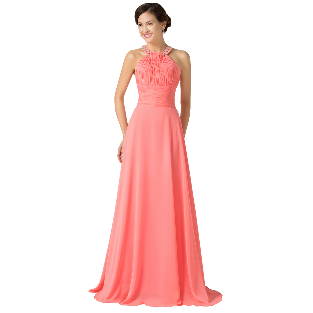 2015 real pictures beautiful grace karin watermelon cheap for Cheap wedding dress under 50