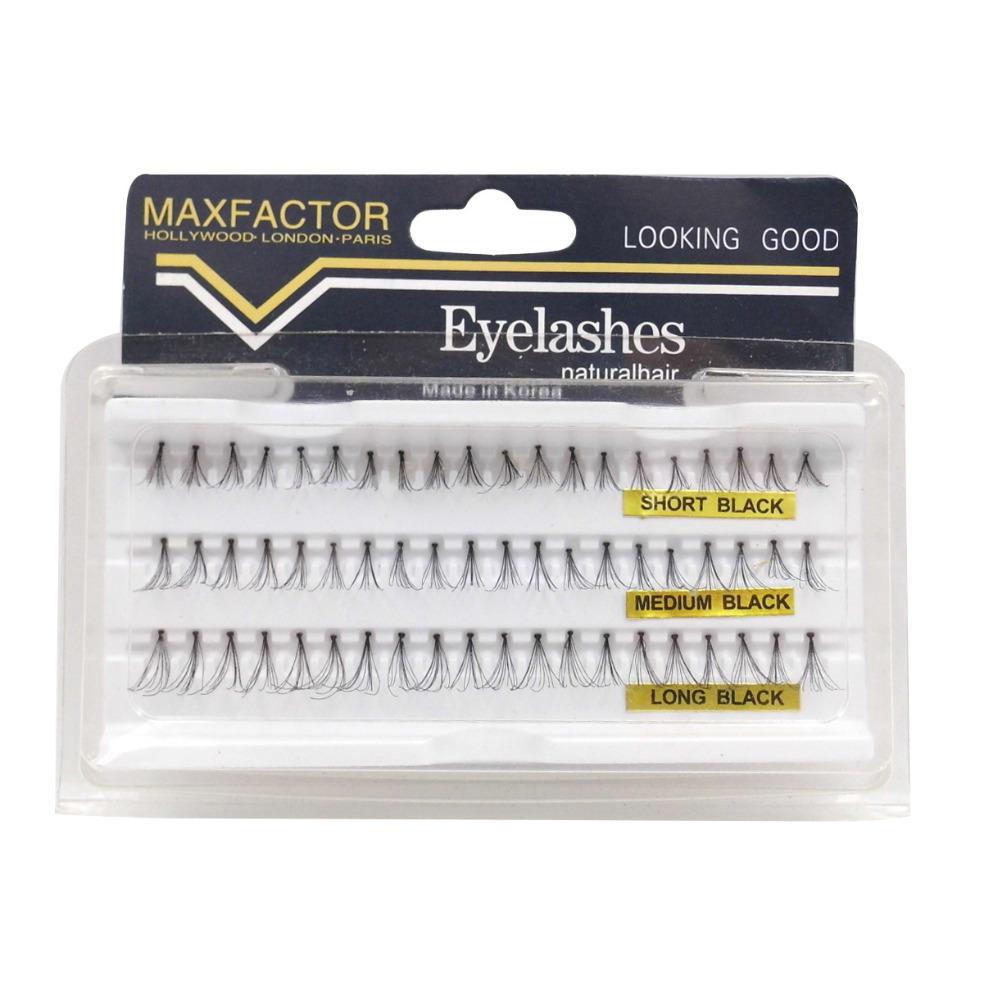3 Size 1 Box Brand Black Natural Looking Cilios Individual Eyelash Extension Soft False Eyelashes Makeup Tool Freeshipping - Make You Up store