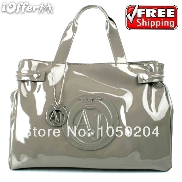 woman HANDBAG BAG Patent Leather FREE SHIPPING(China (Mainland))