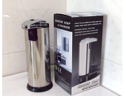 Stainless Automatic Handsfree Sensor Touchless Soap Dispenser Kitchen Bathroom sensor soap dispenser - August Light store