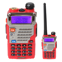 Professional BAOFENG UV-5RE Walkie Talkie VHF / UHF Dual Band Dual Display Dual Standby Portable Two Way Radio FM Transceiver