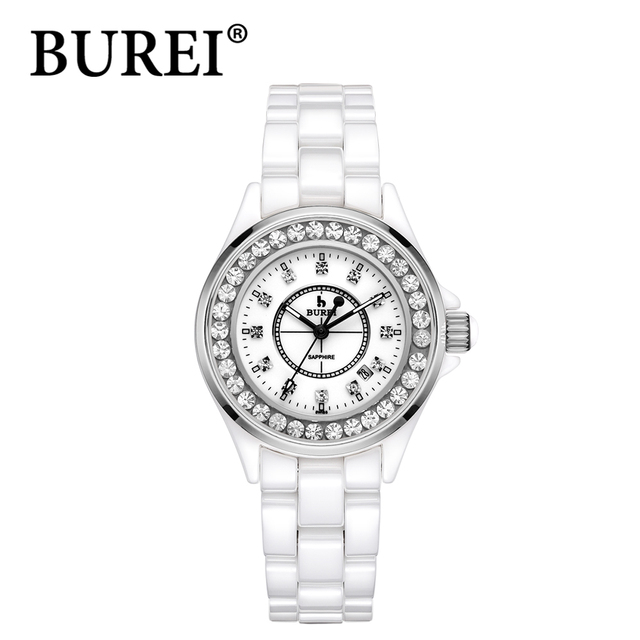 Aliexpress.com : Buy BUREI 2016 female watch brand luxury quartz ...
