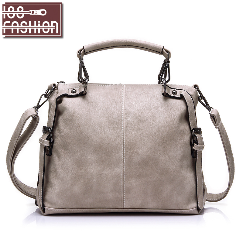2016 Fashion Women Tote Bag Female Casual Handbags PU Leather Top-handle Bags Crossbody Messenger Shoulder Bags(China (Mainland))