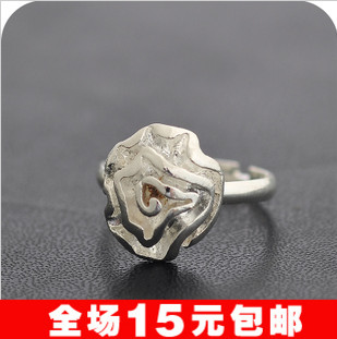 Bargain Jewelry For Women HOT Sale JD1151 Fashion Flower Rose Pattern Finger Rings Beautiful Circlets 20pcs/lot Wholesale(China (Mainland))