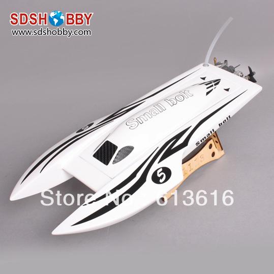 1113 Lightning /Catamaran Electric Brushless RC Boat Fiberglass-White with 2040 Motor+ 30A ESC(China (Mainland))