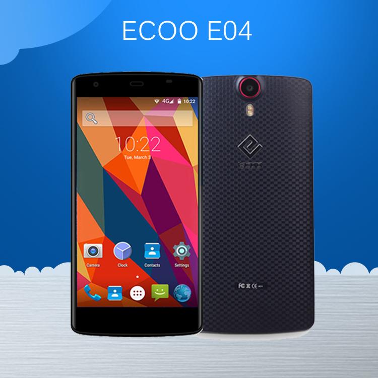 "Original ECOO E04 Aurora 5.5"" FHD 4G LTE Cell Phone MTK6752 Octa Core 3GB RAM 16GB ROM 16MP+8MP Android 5.0 Fingerprint 3000mAh(China (Mainland))"