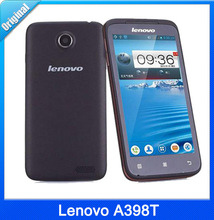 "Original Lenovo A398T smartphone 4.5"" IPS Dual Core Dual Sim Android phone SC8825 512RAM 854×480 5MP 4GB ROM unlocked mobile"