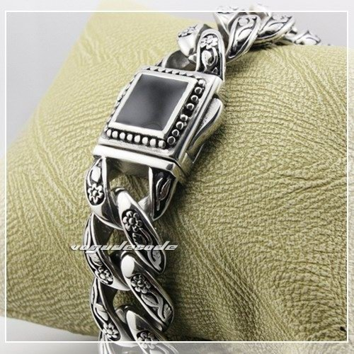 Bracelet 316L Stainless Steel Chain Mens 4R013 Length Customizable - voguecode store