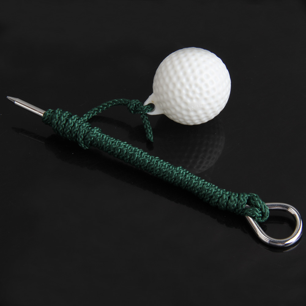 High Quality Golf Practice Balls Outdoor Sports Golf Balls Plastic Training Balls with Steel Rope Golf Club Accessaries(China (Mainland))