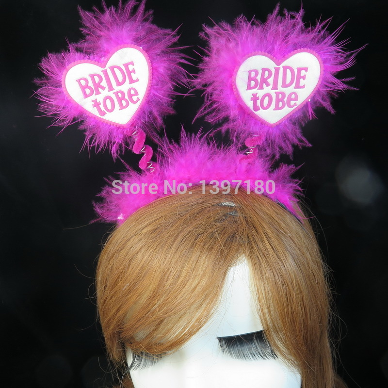 Wedding accessories Bachelorette party Bride to be Bridesmaid hair accessories  hen party every supplies sexy women sex products(China (Mainland))