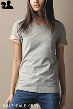 2016 Luxury Designer Women's Cotton T-Shirts Famous Brand Ladies Fashion Summer Tee Shirts Casual Classic T Shirt Cheap Clothes(China (Mainland))