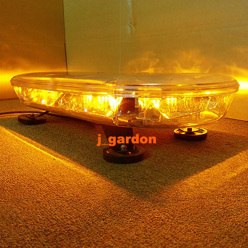 "620mm 24.5""Rescue Recovery 54LED Warning Safety Strobe Beacon Flashing Lightbar Amber(China (Mainland))"