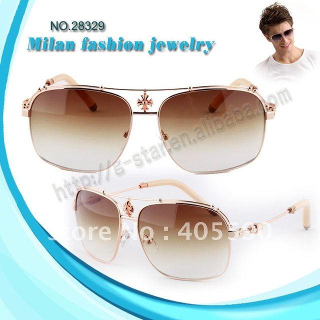 Free shipping!Hot Selling Fashion Designer Brand Sunglasses metal men's glasses NO.28329