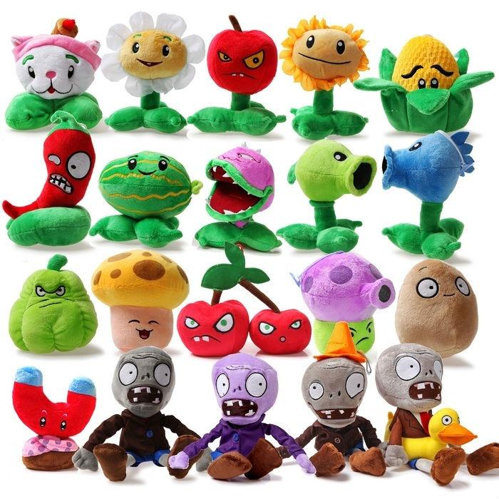 Гаджет  Hot game Plants VS Zombies Plants VS Zombies Stuffed Plush Toy Vivid image Mini Soft Plush Doll 25pcs Multiple choice 11 rNpt None Игрушки и Хобби