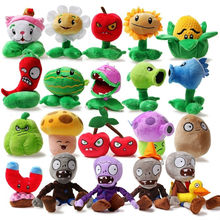 Hot game Plants VS Zombies Plants VS Zombies Stuffed Plush Toy Vivid image Mini Soft Plush Doll 25pcs Multiple choice 11 rNpt(China (Mainland))