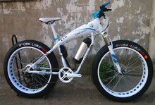 Customizable Logo 36V 10Ah Lithium Battery, 330W Motor Electric Bicycle Moped Snow  Mountain ATV 26x4.0,Oil/Line Brake,(China (Mainland))