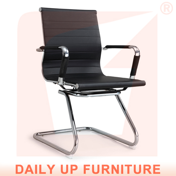 Concise Management Office Chair Lowback Ergonomic Computer Staff Eame without Castors - Daily Up chair store