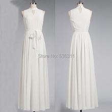New 2015 Casual long women Summer Dress white sexy Women sleeveless Party pure white Dress