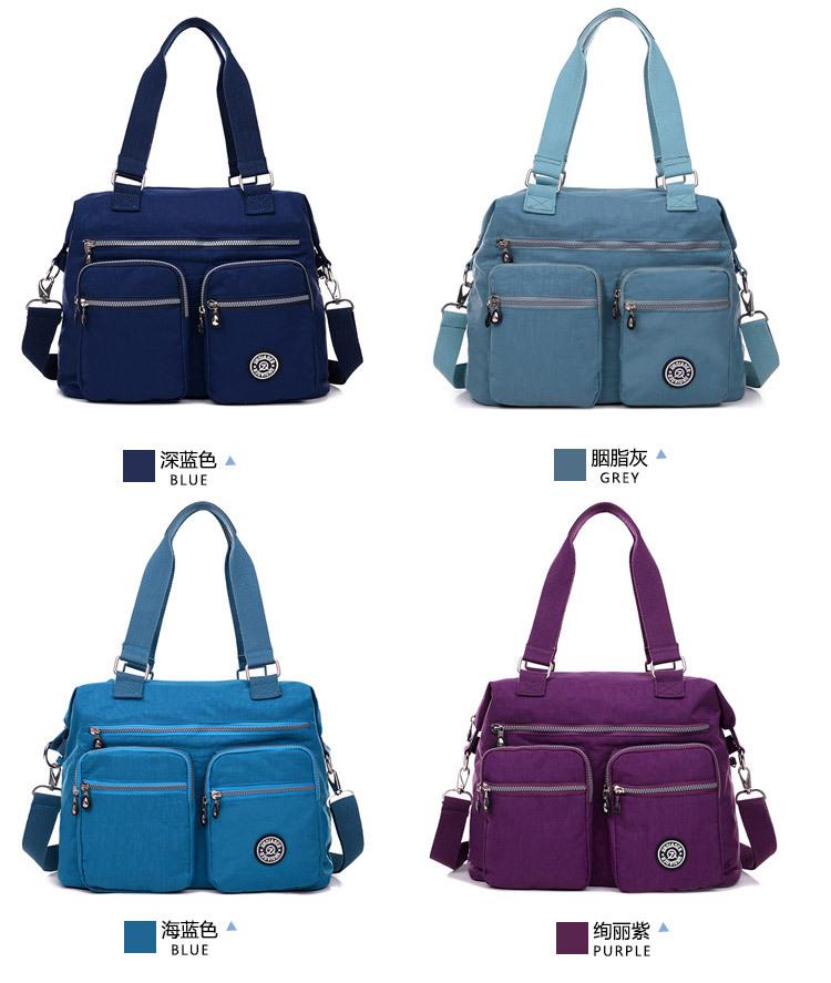 JINQIAOER Women Handbags Nylon Messenger Bags for Women Bag Ladies High-capacity Handbag Female Designer Shoulder Crossbody bag