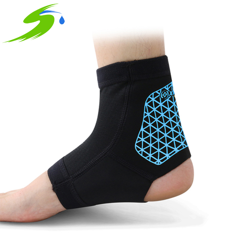 Sports Elastic Ankle Protector Neoprene Waterproof Brace Football Basketball Ankle Support Sport Safety Sb060(China (Mainland))