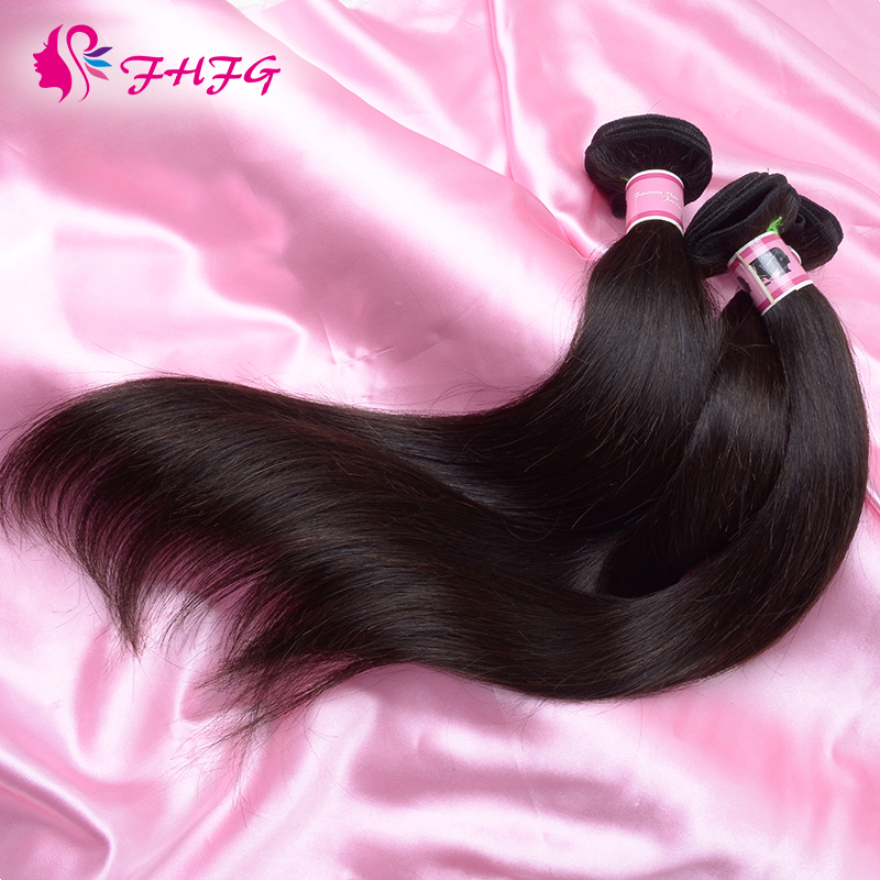 Brazilian Virgin Hair Cheap Straight 3 Bundles Hand Weft Virgin Hair Weave Online Factory Wholesale Price Unprocessed Human Hair(China (Mainland))