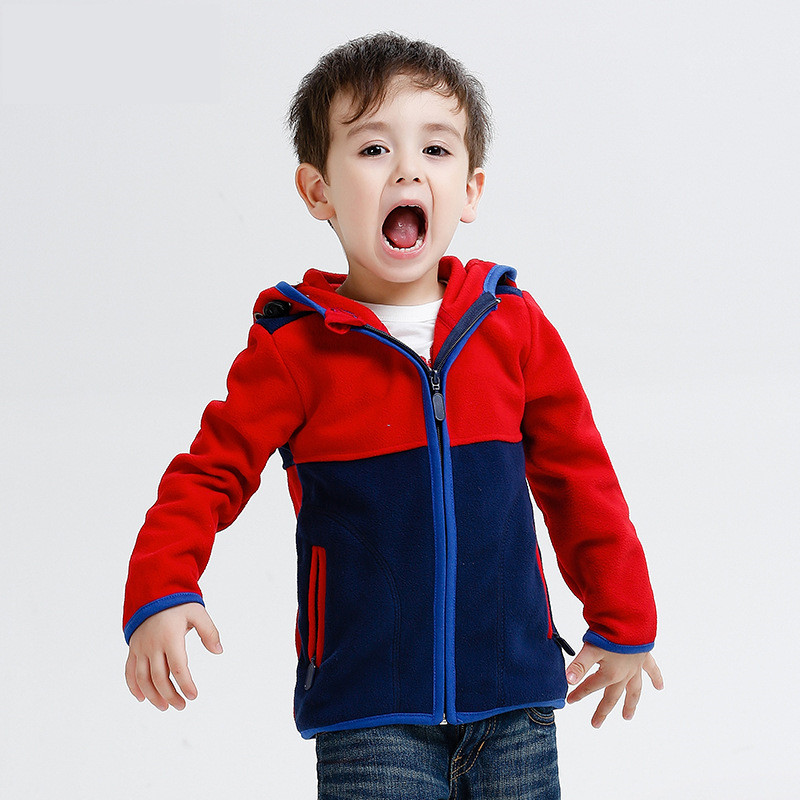 New 2016 children kids clothing boys sweatshirts hoodies boys polar fleece hooded sweatshirts high quality baby boys hoodies(China (Mainland))