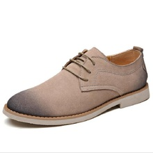 Fall New Men 's Suede Leather Breathable Casual Shoes botte homme Male Oxfords Shoes huarche yeezy(China (Mainland))