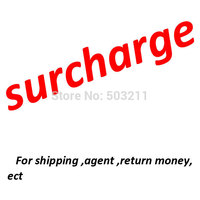 link for additional payment ,additional shipping ,return money,agent and so on