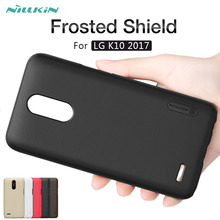 Buy LG K10 2017 case NILLKIN Frosted Shield matte hard back cover case LG K10 2017 5.3'' phone cases Gift screen protector for $7.19 in AliExpress store