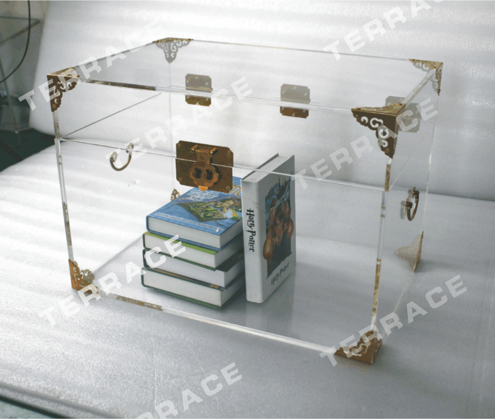 Buy clear acrylic storage chest lucite for Where to buy lucite