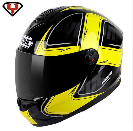 Eternal YOHE YH966 full face motorcycle helmet Affordable black visor helmets motorcycle winter helmet Moto men/women(China (Mainland))