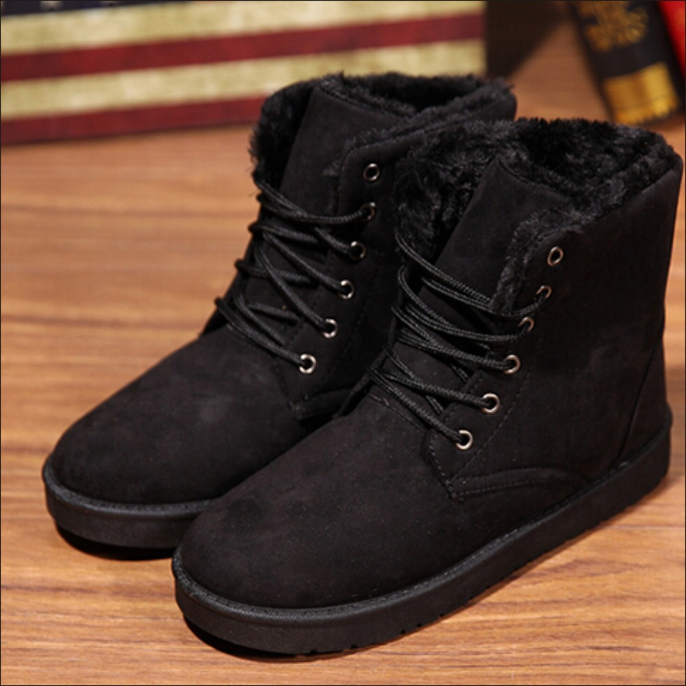Mens Black Winter Boots - Cr Boot