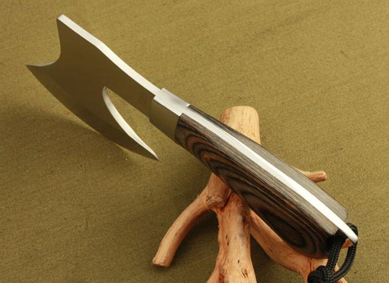 Outdoor climbing camping expedition can be folded more features an axe
