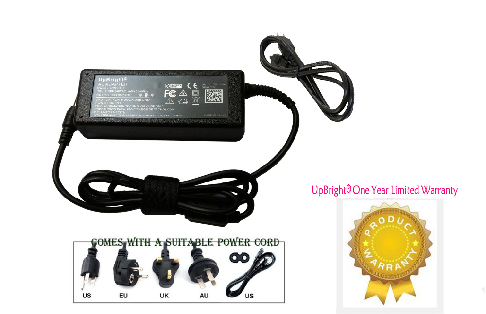UpBright NEW AC / DC Adapter For LaCie eSATA Hub,LaCie Wireless Space, LaCie Porsche Hard Disk P'9230 P'9231 P'9233 36W-12V/3A(China (Mainland))