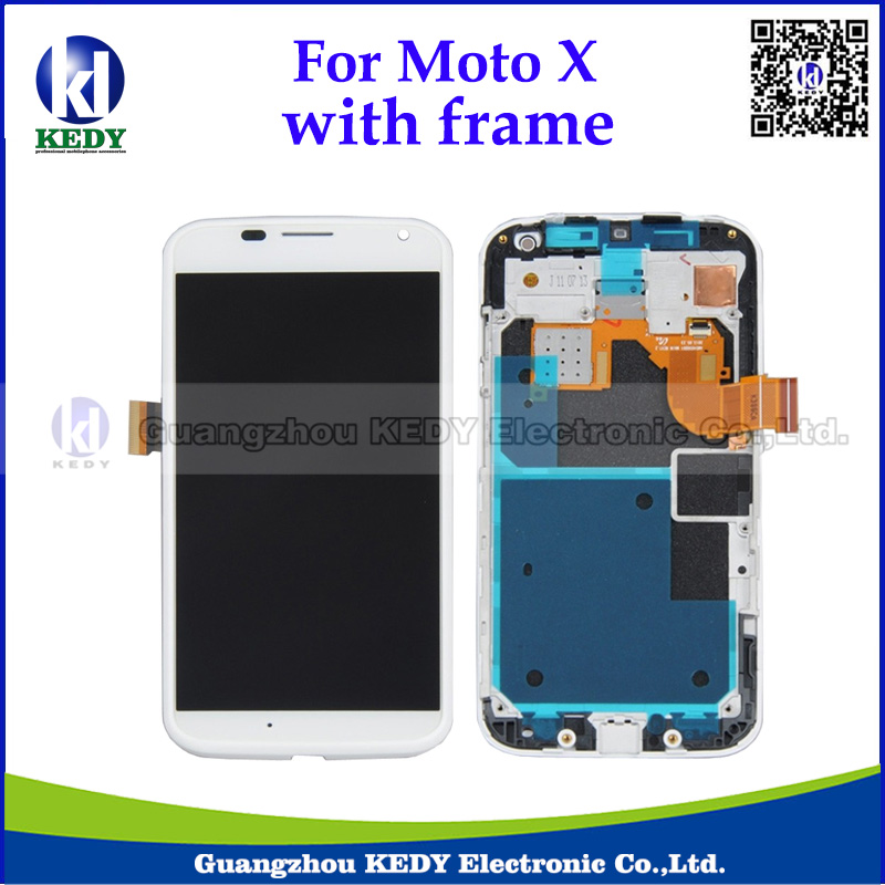 5pcs Original Brand New LCD TouchPanel For Motorola Moto X xt1058 xt1060 xt1053 with Touch Screen Digitizer Assembly with Frame(China (Mainland))