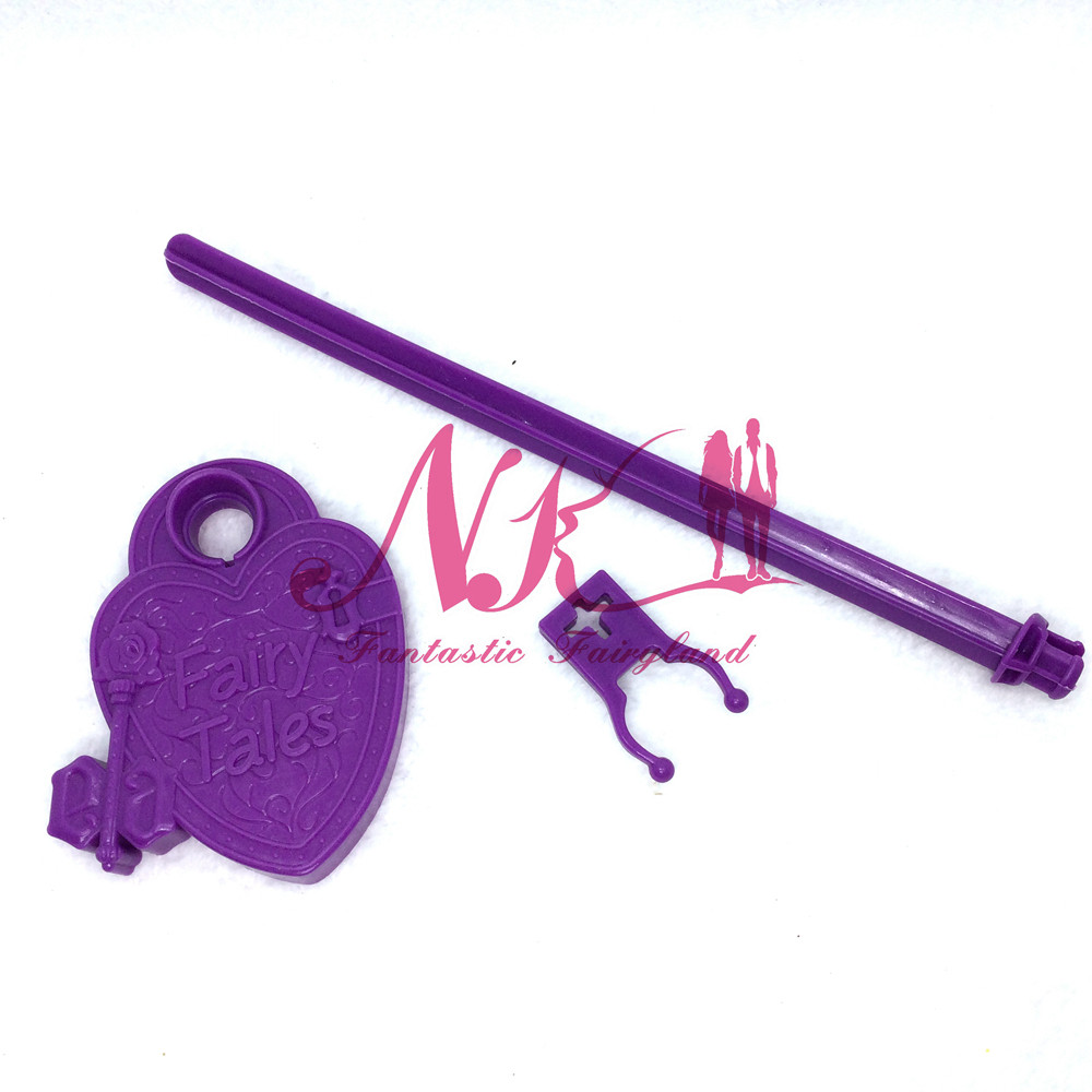 NK  10 pcs/Set  Doll's Stand Show Holder Purple Pink Blue For Monster Dolls Excessive / Ever After Hight Doll Doll's Equipment