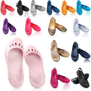2015 women's sandals women's Beach hole hole shoes nurse shoes Malindi Womens Fashion comfortable flat Beach Sandal Footwear(China (Mainland))
