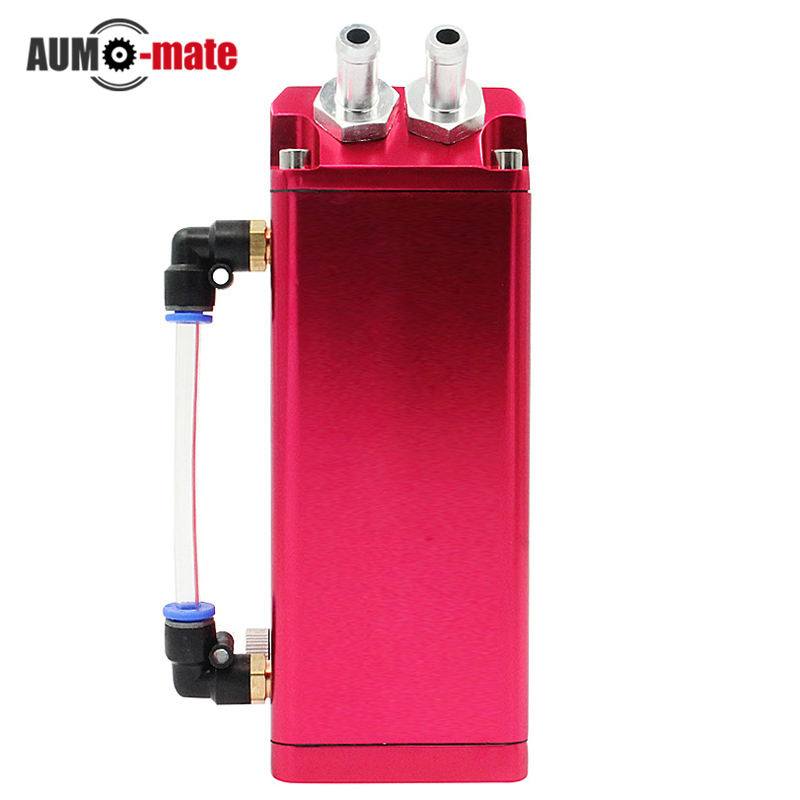 Square Car Fuel Tank Oiler Exhaust Pipe Oil Cans