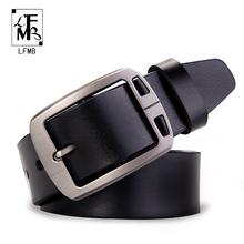 Buy LFMB male genuine leather strap designer belts men high leather belt men belts cummerbunds luxury brand men belt for $9.94 in AliExpress store