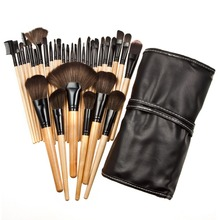 Free Shipping Durable 32pcs Soft Makeup Brushes Professional Cosmetic Make Up Brush Set 2015 New