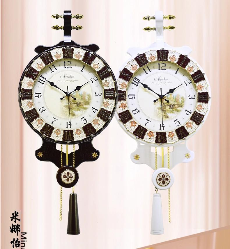 Achetez en gros grand rustique horloge en ligne des for Grande horloge murale moderne