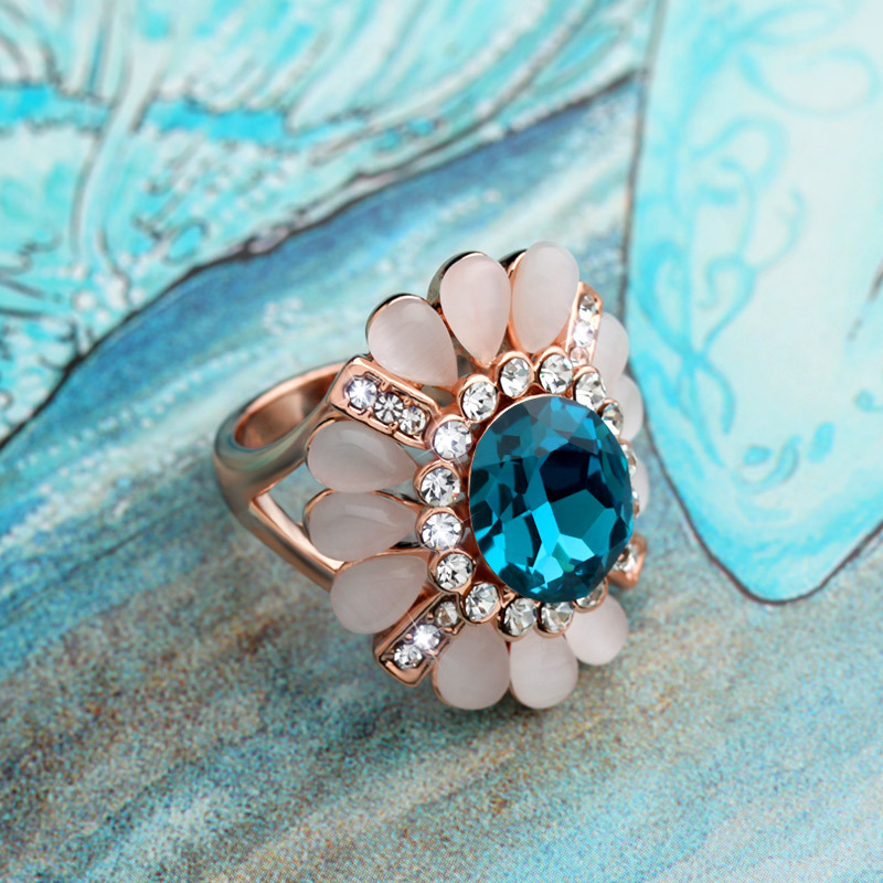 Special New Fashion Rings Western Style Wedding Engagement Ring Free Shipping Gifts For Couple Women JZ150103(China (Mainland))