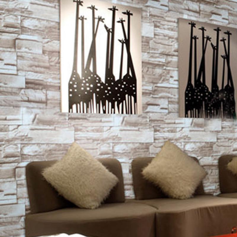 Comparer les prix sur brick tile flooring online - Simulation papier peint salon ...