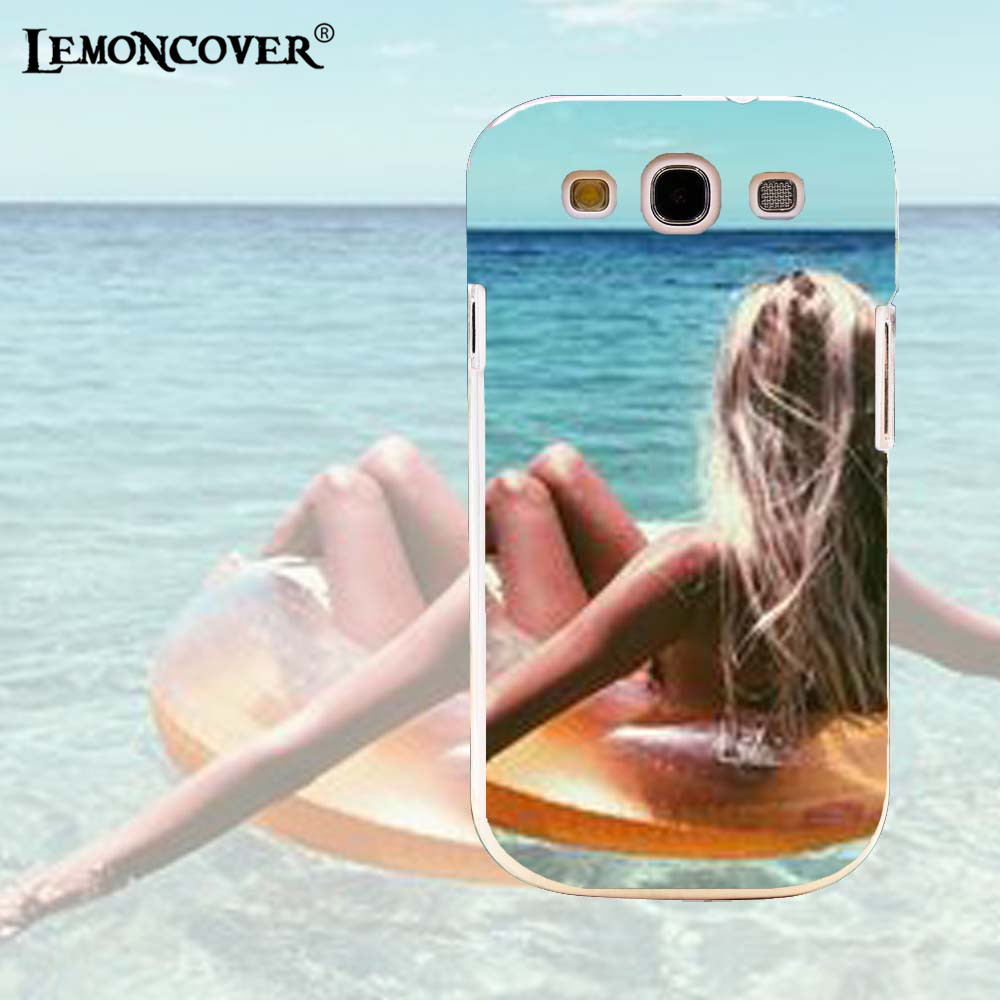 Exciting Summer Beach For Samsung Galaxy S3 I9300 I939D Case Transparent Back Cover Silicone Soft Shell Phone Cases Relax Ocean(China (Mainland))