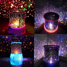 Romantic Sky Star Starry Master Star Sky Universal Night Light Baby kid Children Projector Indoor home Novelty Gifts + USB Plug(China (Mainland))