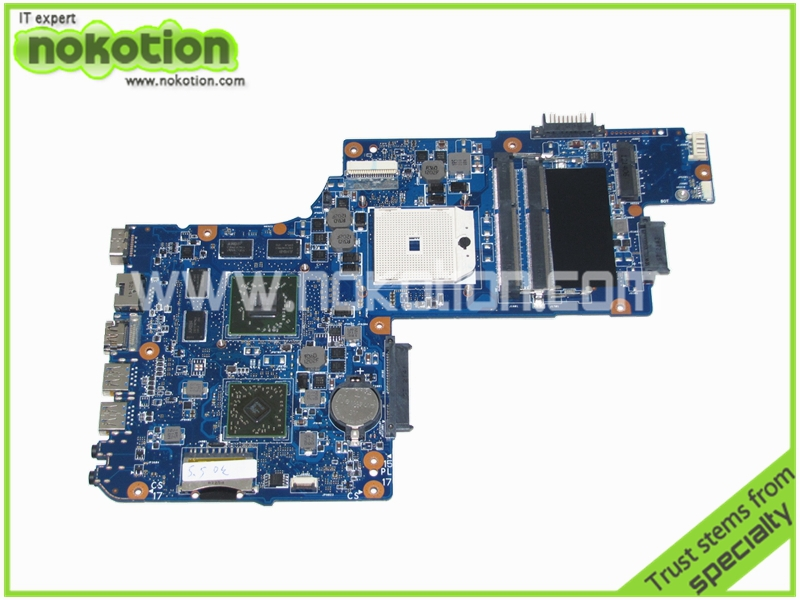 laptop motherboard for toshiba satellite C850D L850D H000050830 AMD socket FS1 ATI HD 7670M DDR3(China (Mainland))