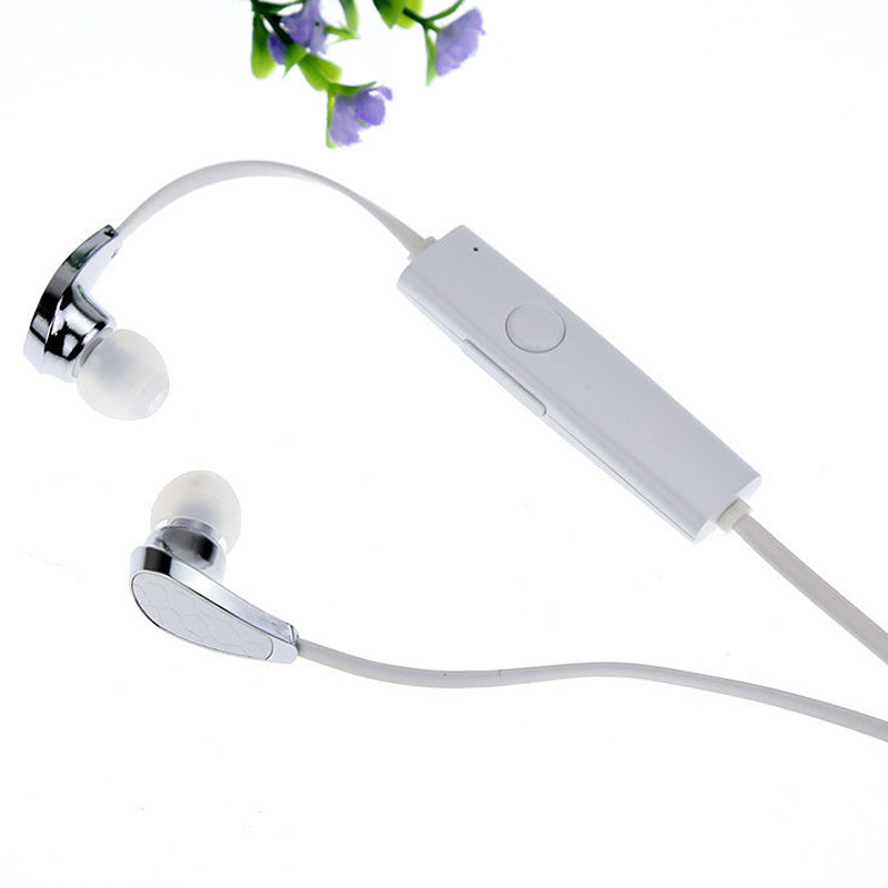 5x New Sports Stereo Bluetooth Wireless Sweatproof Bluedio N2 V4.1 Headset Earbuds(white)