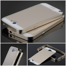 Note 2 Aluminum Metal Frame & PC Brush Back Cover Mobile Phone Case For Samsung Galaxy Note 2 II N7100 Cover Case Note2(China (Mainland))