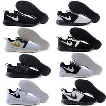 Hot Sales Free shipping 16 colour Running Shoes roshe run Couples Shoes men and women Walking Shoes sports shoes Size EUR 36-45