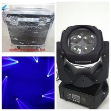 Buy O- 2pcs/lot flight case super beam 4x25 w rgbw moving head led high power dmx stage mini moving head light for $563.40 in AliExpress store